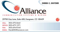 Alliance Communication Systems and Wiring