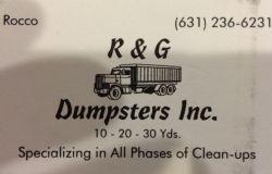 R&G Dumpsters Inc.