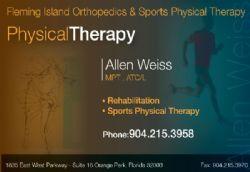 Allen Weiss Orthopedic Sports Physical Therapy