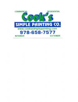 Cook&#39;s Simple Painting Co.