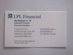 LPL Financial - Guy Angiuoni, Jr