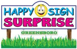 Happy Sign Surprise