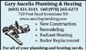 Gary Aucella Plumbing and Heating