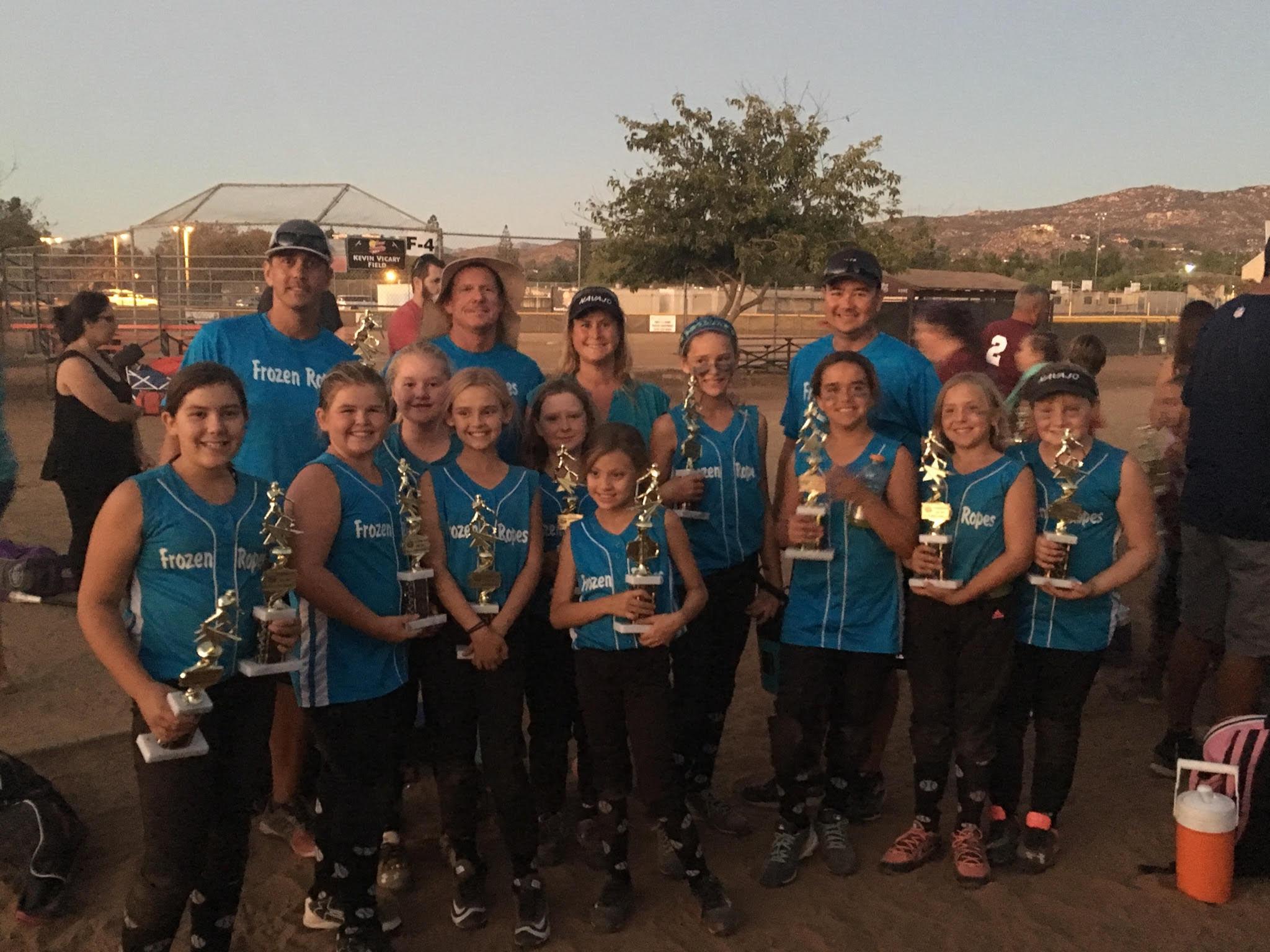 Navajo Girls Fastpitch Softball