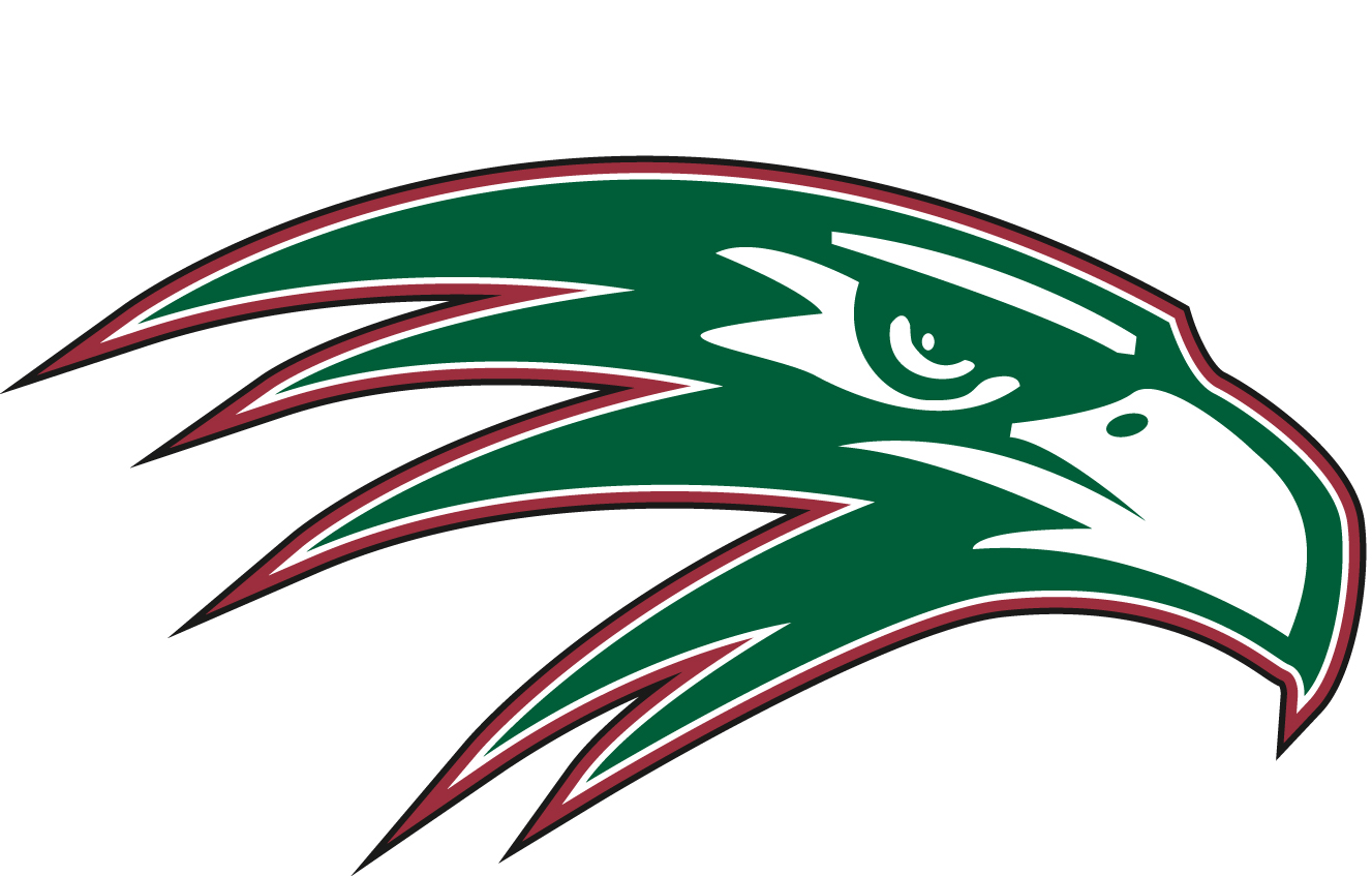 Green High School Football Logos The Green Hope Logo is theFalcon Head Logo