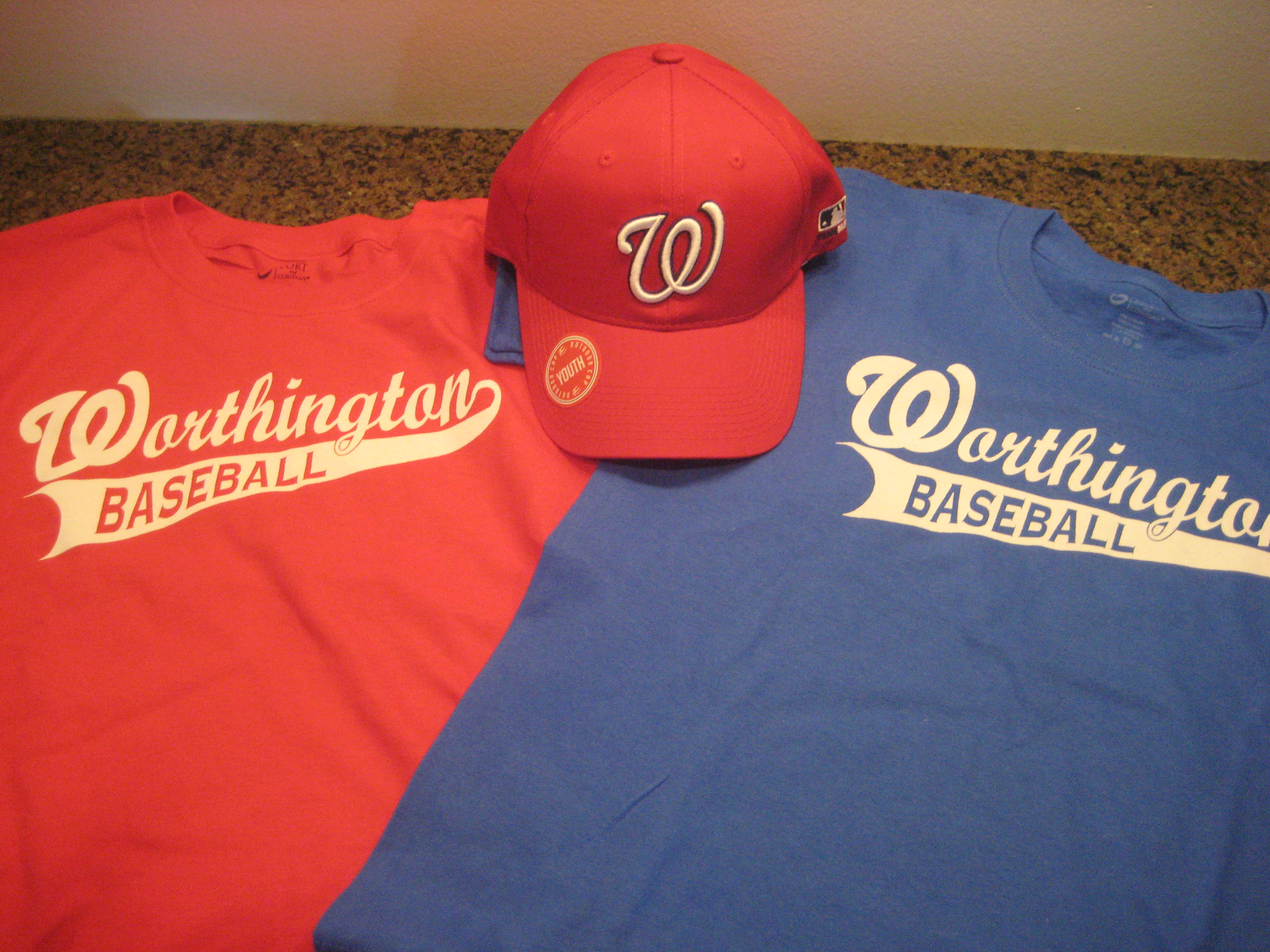 sneakers for cheap ea850 0be17 Uniforms | Worthington Youth Boosters - Baseball