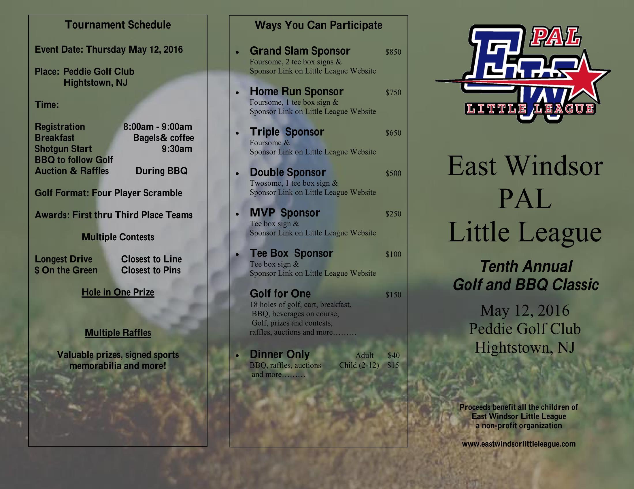 East Windsor Police Athletic League | News