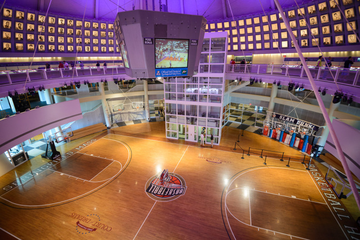 Foyer Museum Hours : Basketball hall of fame wins for life