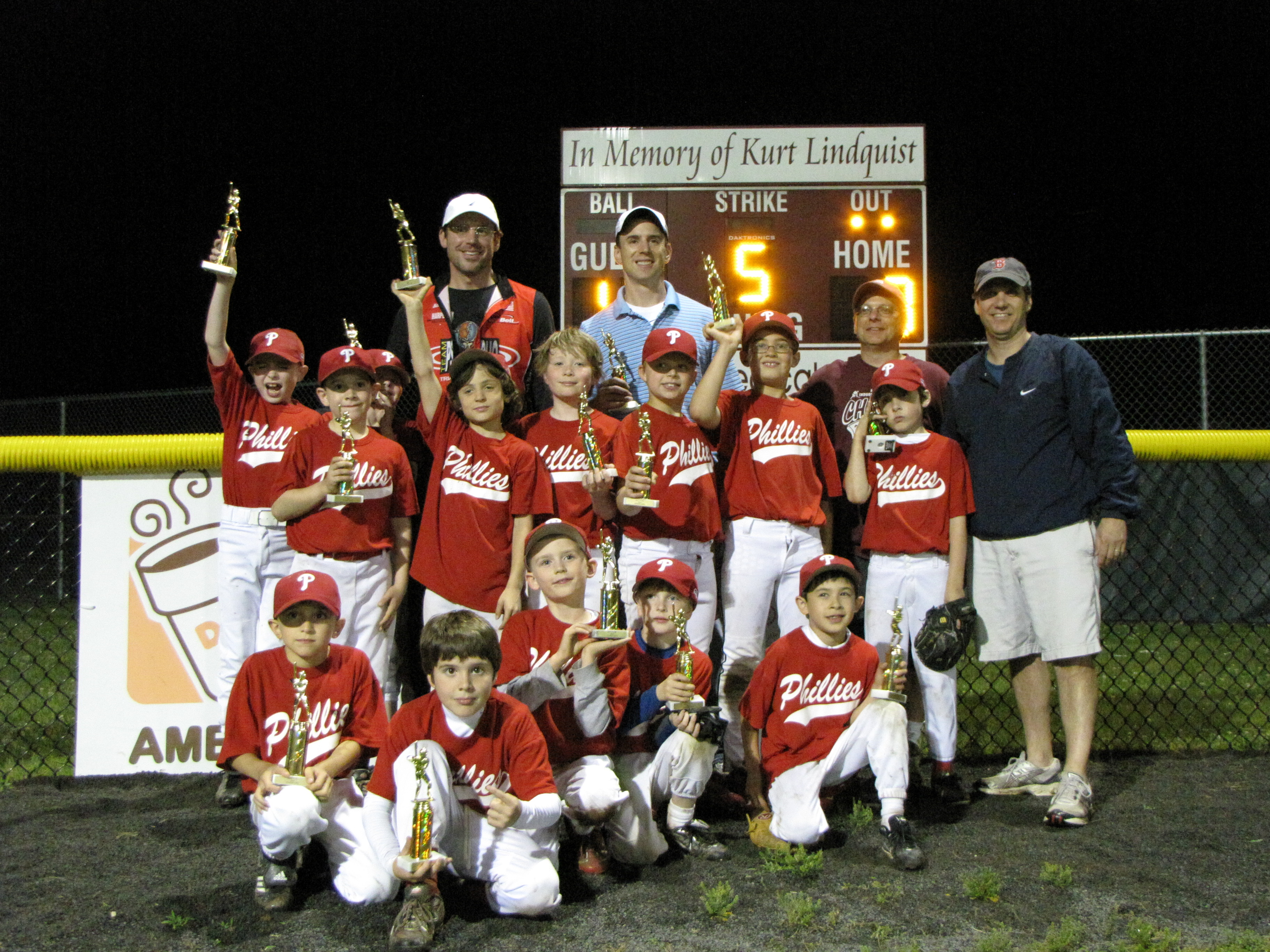 2ff1c0d26ba Champions  Phillies Runner Ups  Angels