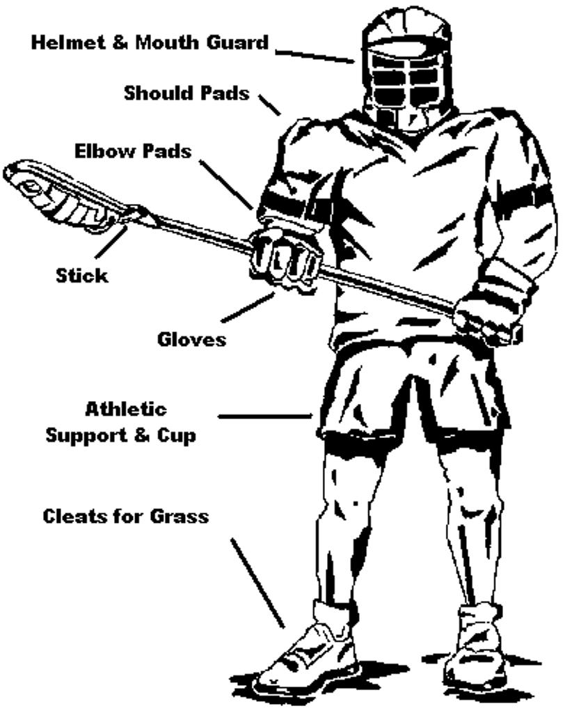 boys equipment