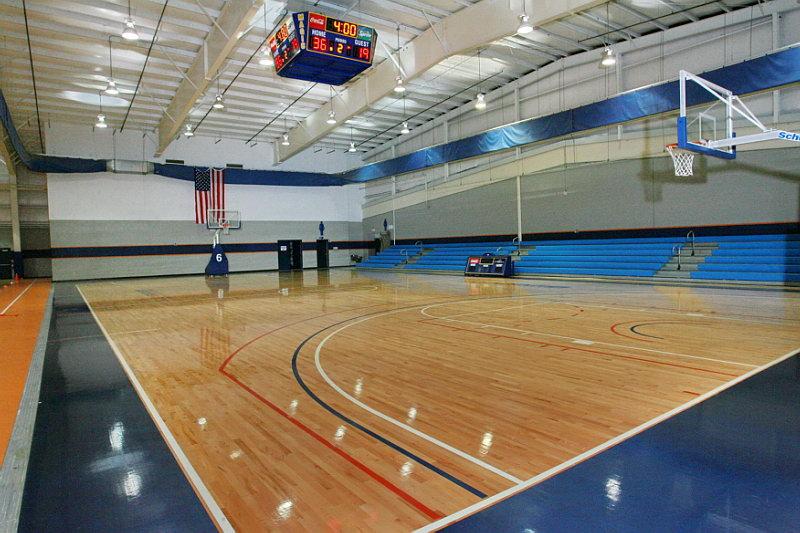 NBA Basketball Court | NOVA Field House LLC