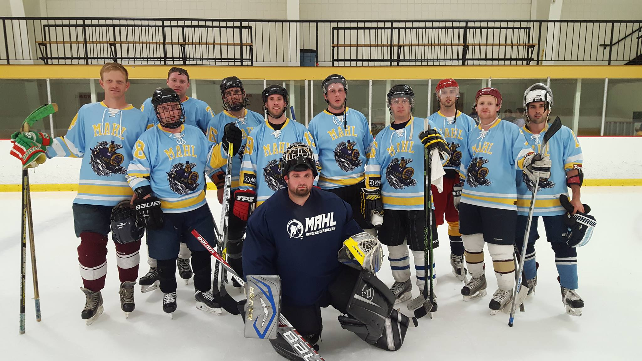 Mahl Saints Charity Team Ma Hockey League
