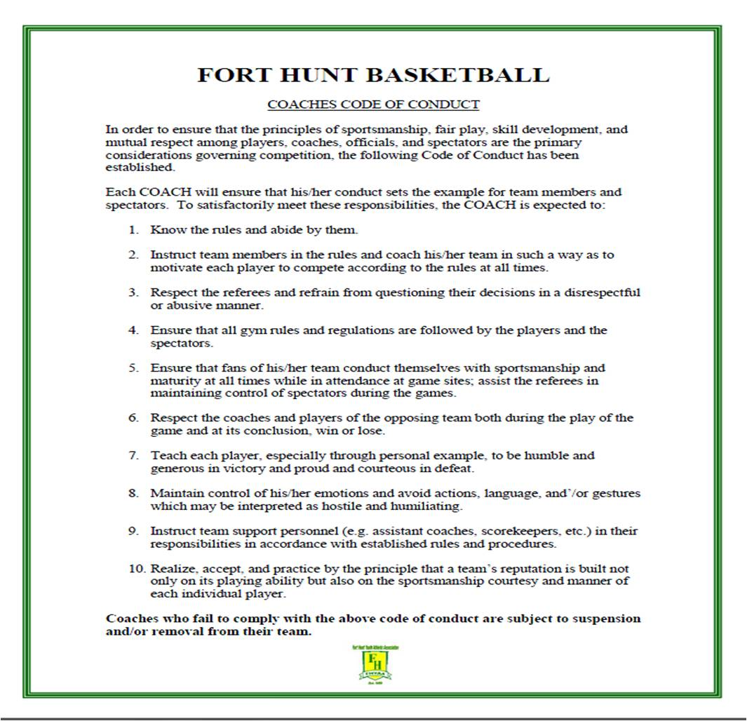 Fort Hunt Basketball