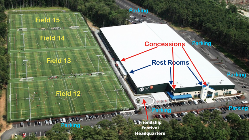 Field Map | Plymouth Sports Complex