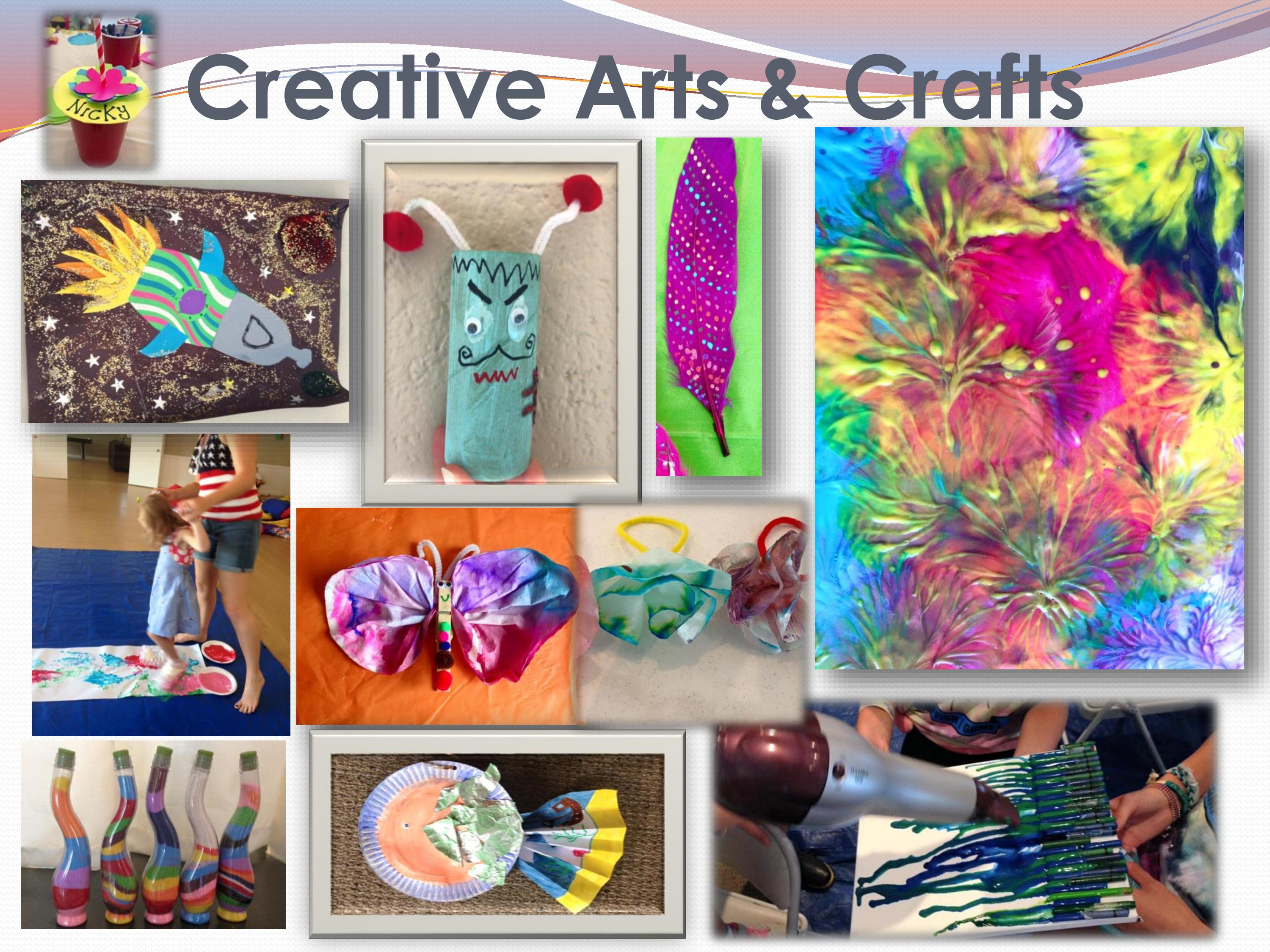 Art activities for summer camp how to make a woodland for Summer camp arts and crafts projects
