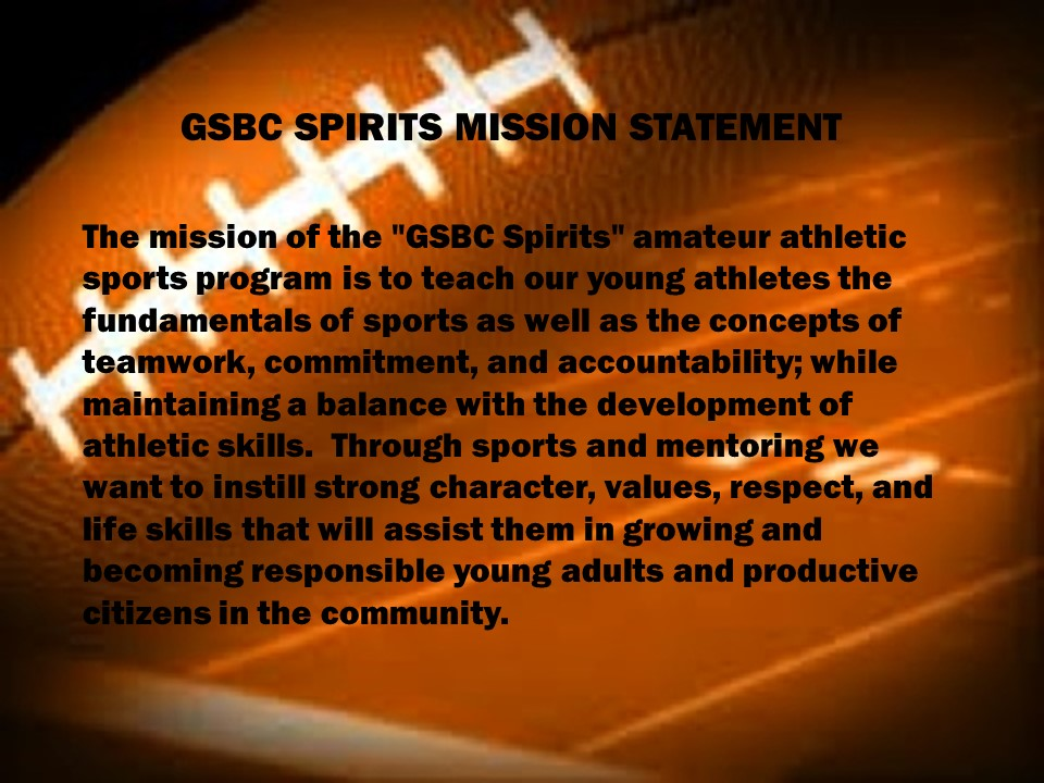 Mission Statement Good Shepherd Spirits