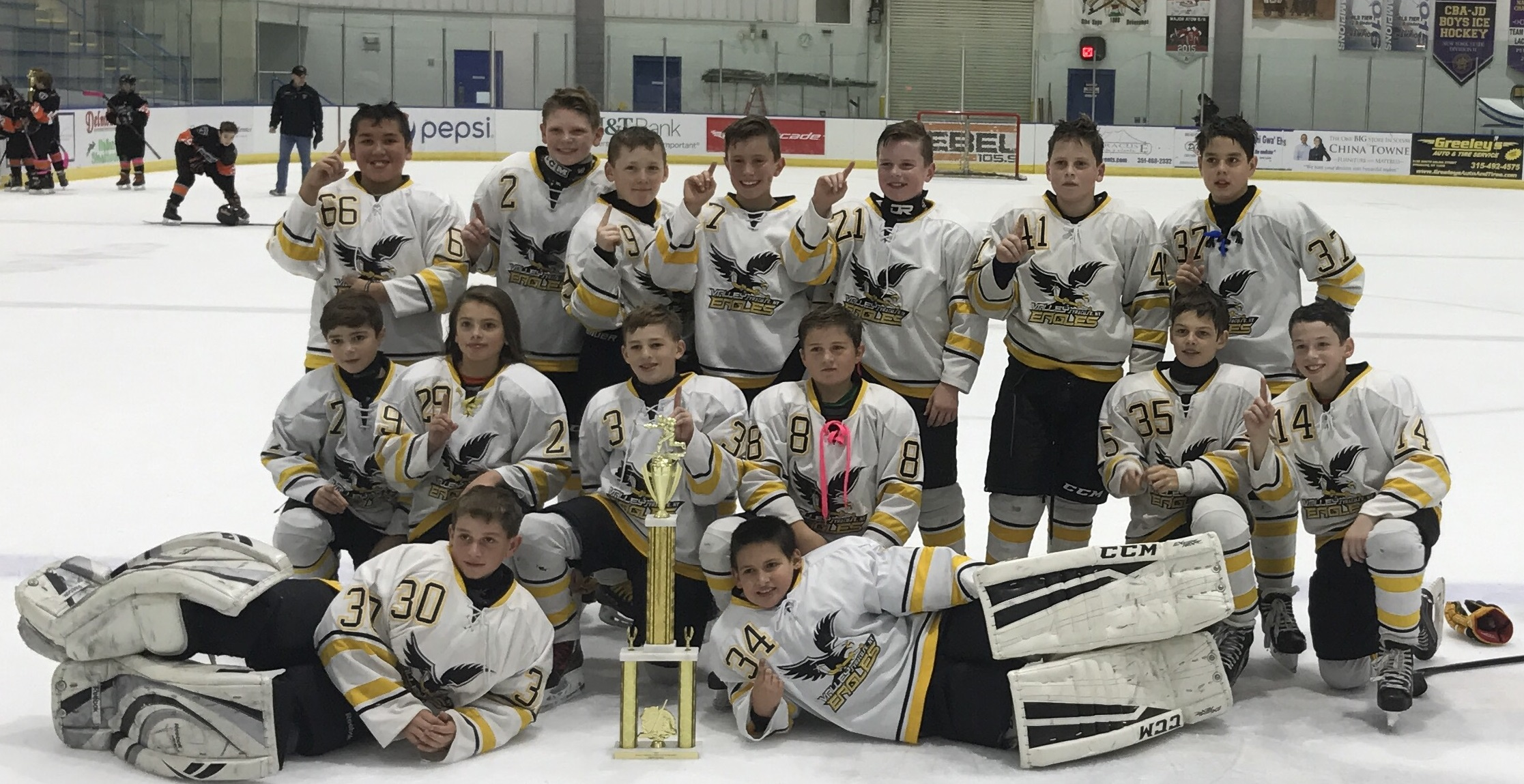 archived news valley youth hockey association congrats to valley peewee minor 2005