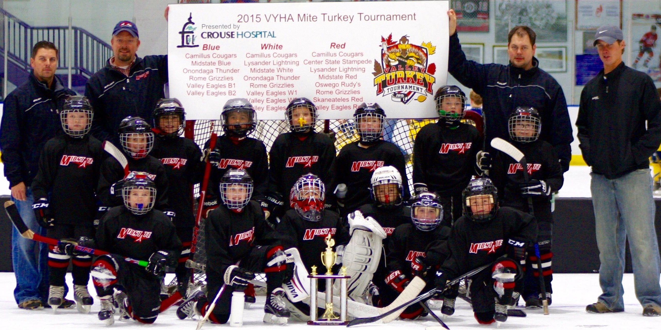 vyha turkey tourney valley youth hockey association midstate white