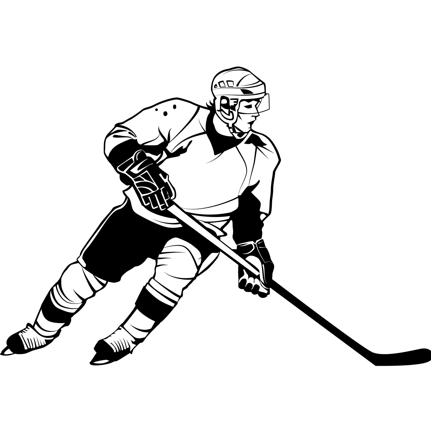 floor hockey coloring pages - photo#27