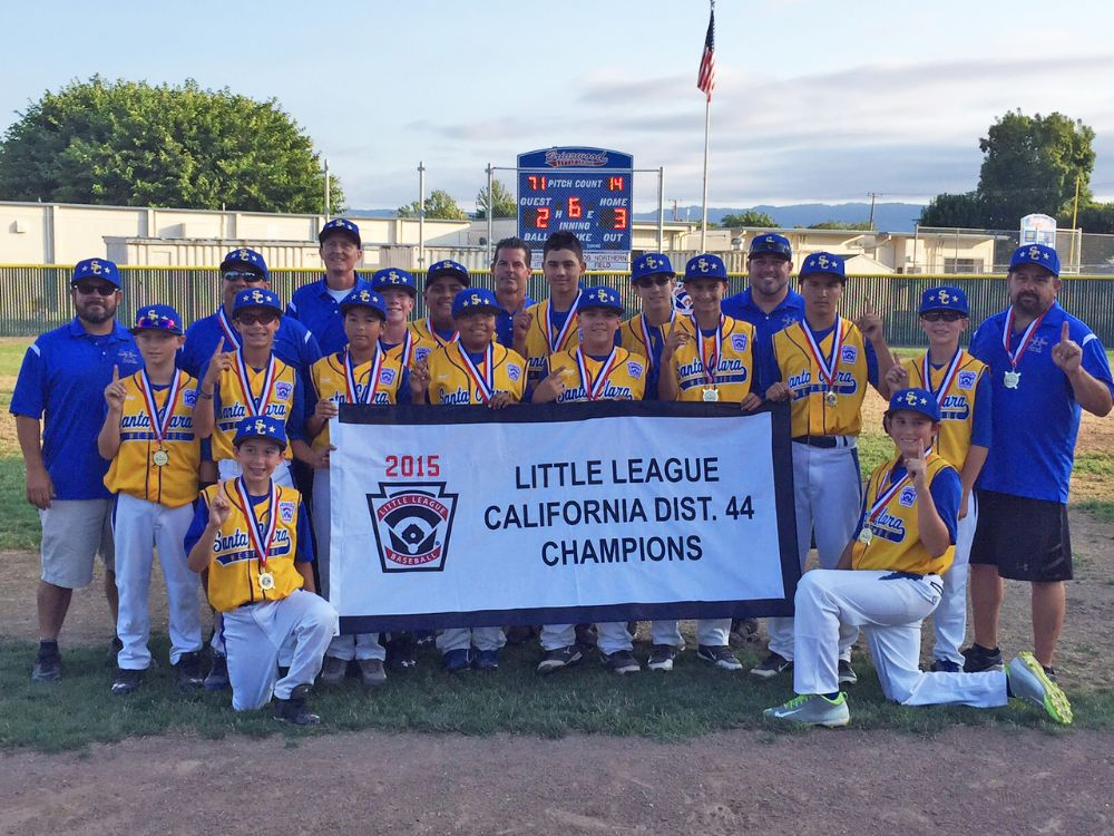 2015 All-Stars | Santa Clara Westside Little League