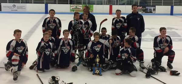 The King Philip Walpole Pee Wee B2 team won the 14th annual Dusty Lardin Tournament championship.