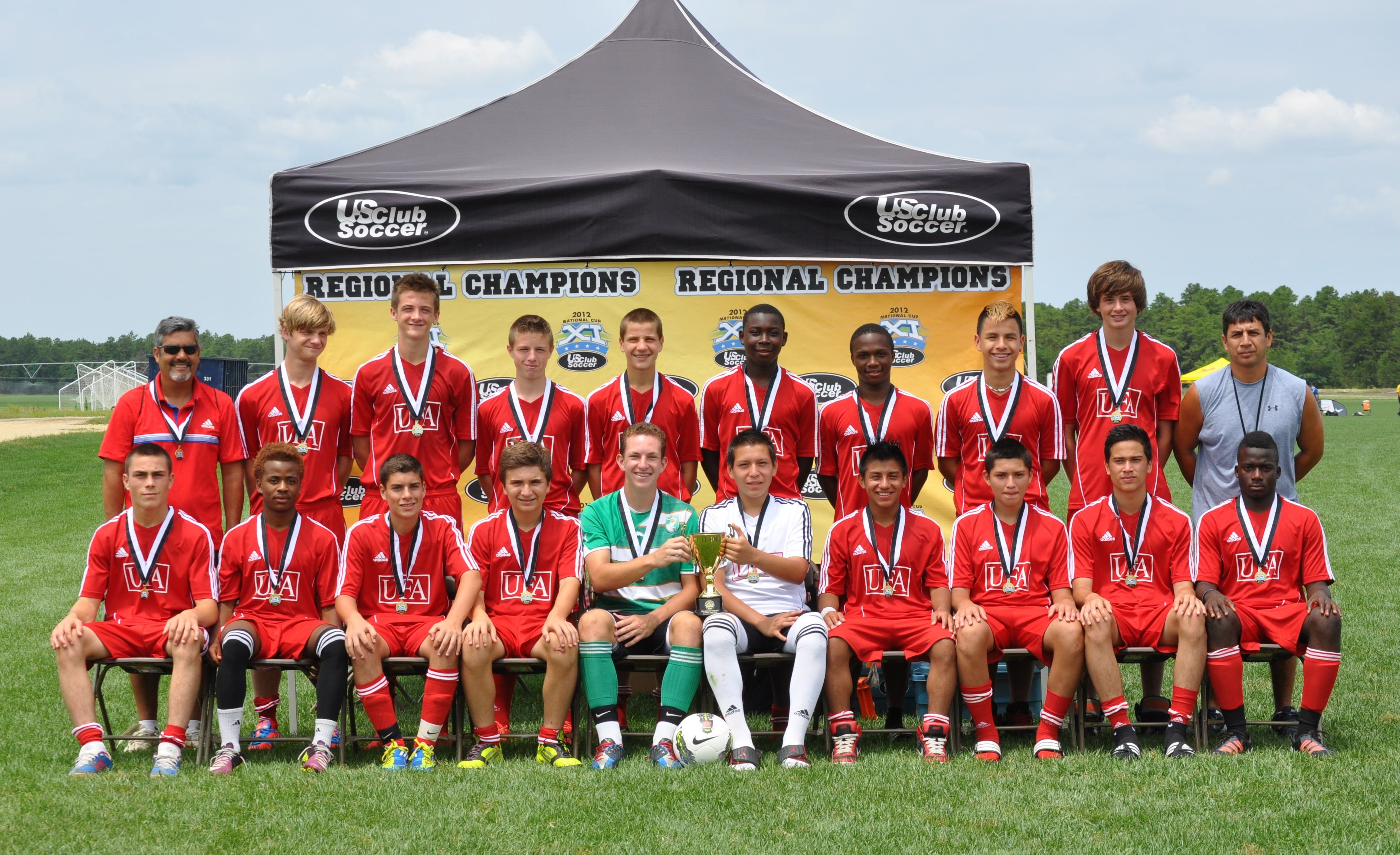 ufa nj strikers were finalists in the 2012 maps cup after beating new york soccer club