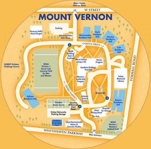 Gwu Mount Vernon Campus Map.Playing Facilities