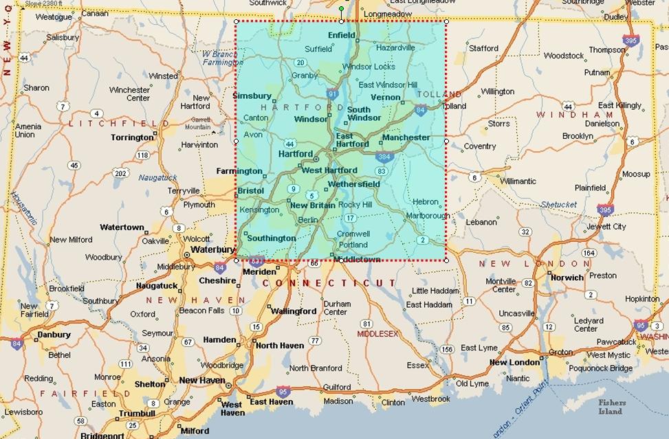 North Central Map Windsor Locks Soccer Club - Windsor map