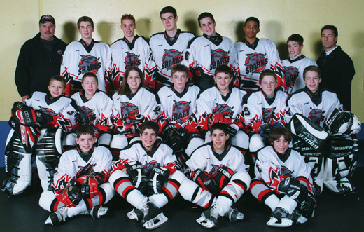 The Host Stamford Bantam Team 2002 2003