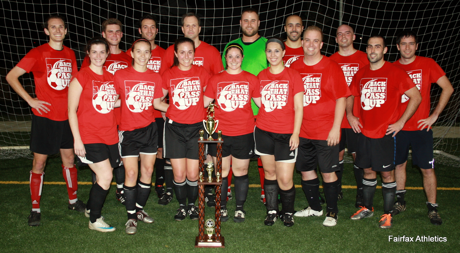 Wednesday Night Competitive League Soccer Champions - Upper 90