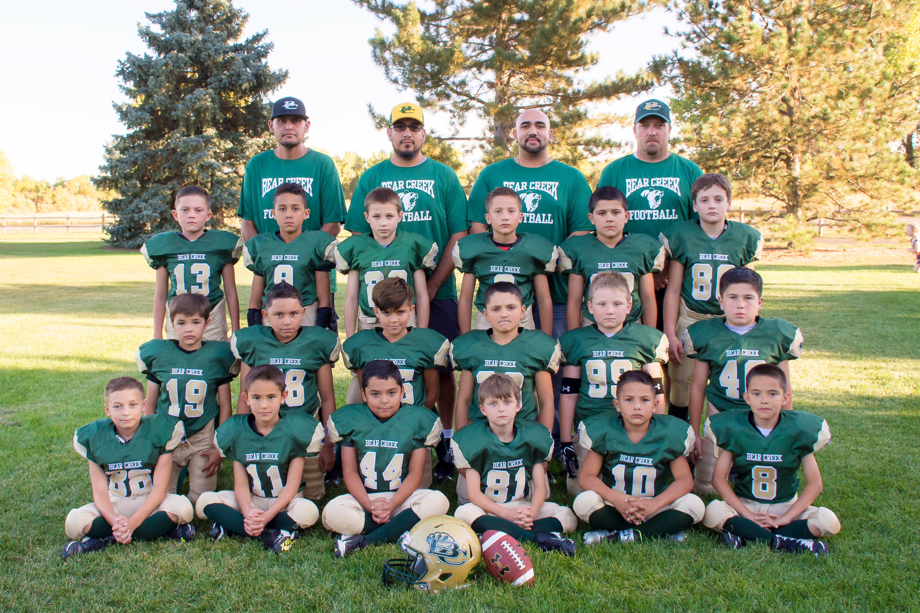 Arvada midget football carnation bowl