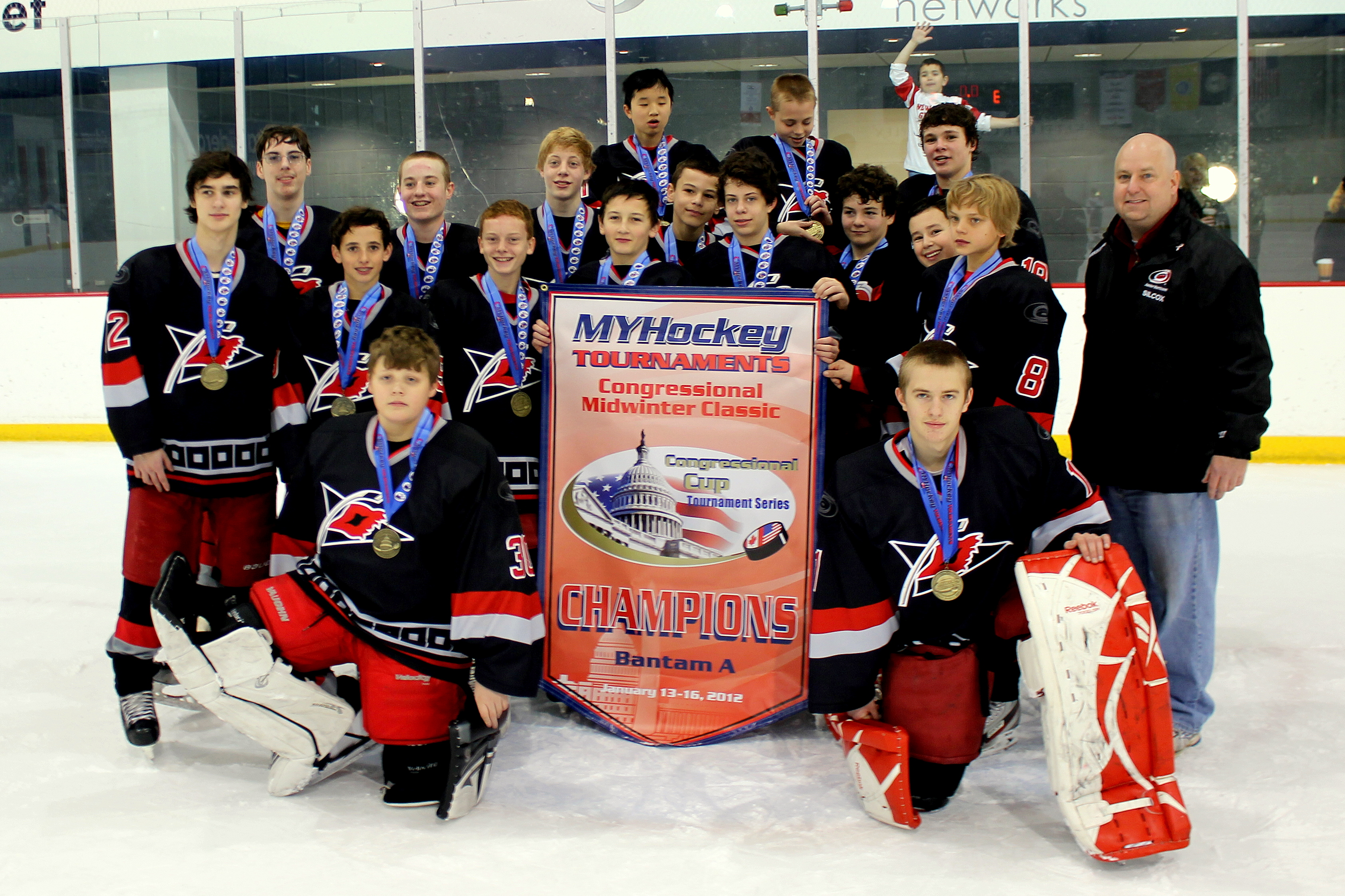 Casco bay midget major hockey team