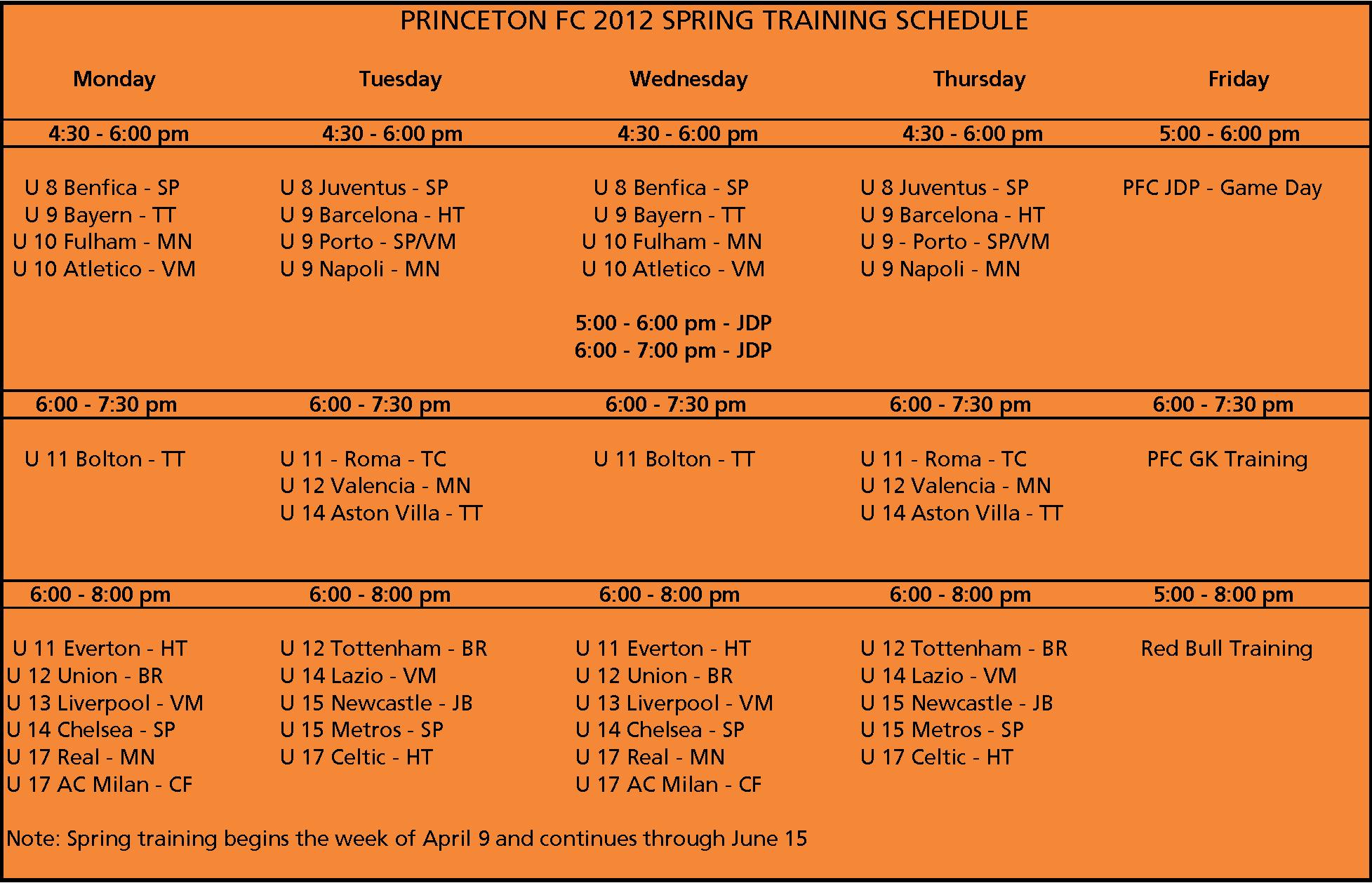 Schedule Multi-Schedule