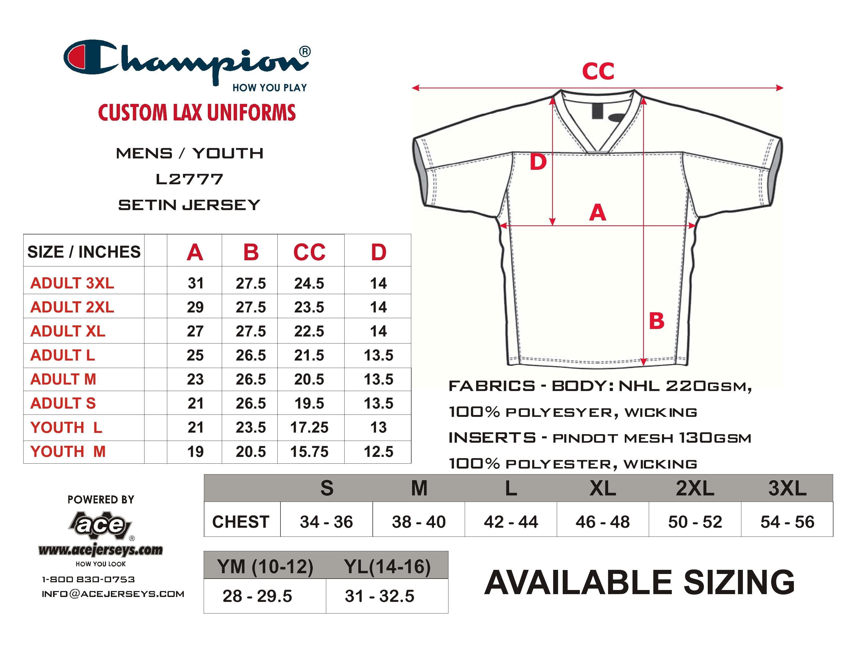 fc87b7245622 Nike Womens Nfl Jersey Size Chart