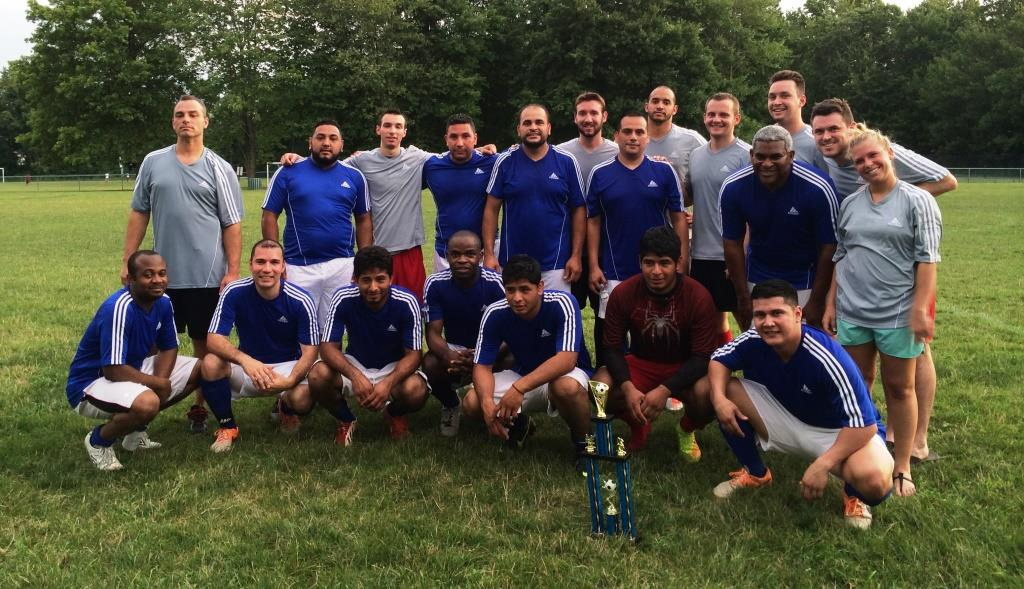 Adult soccer tournament