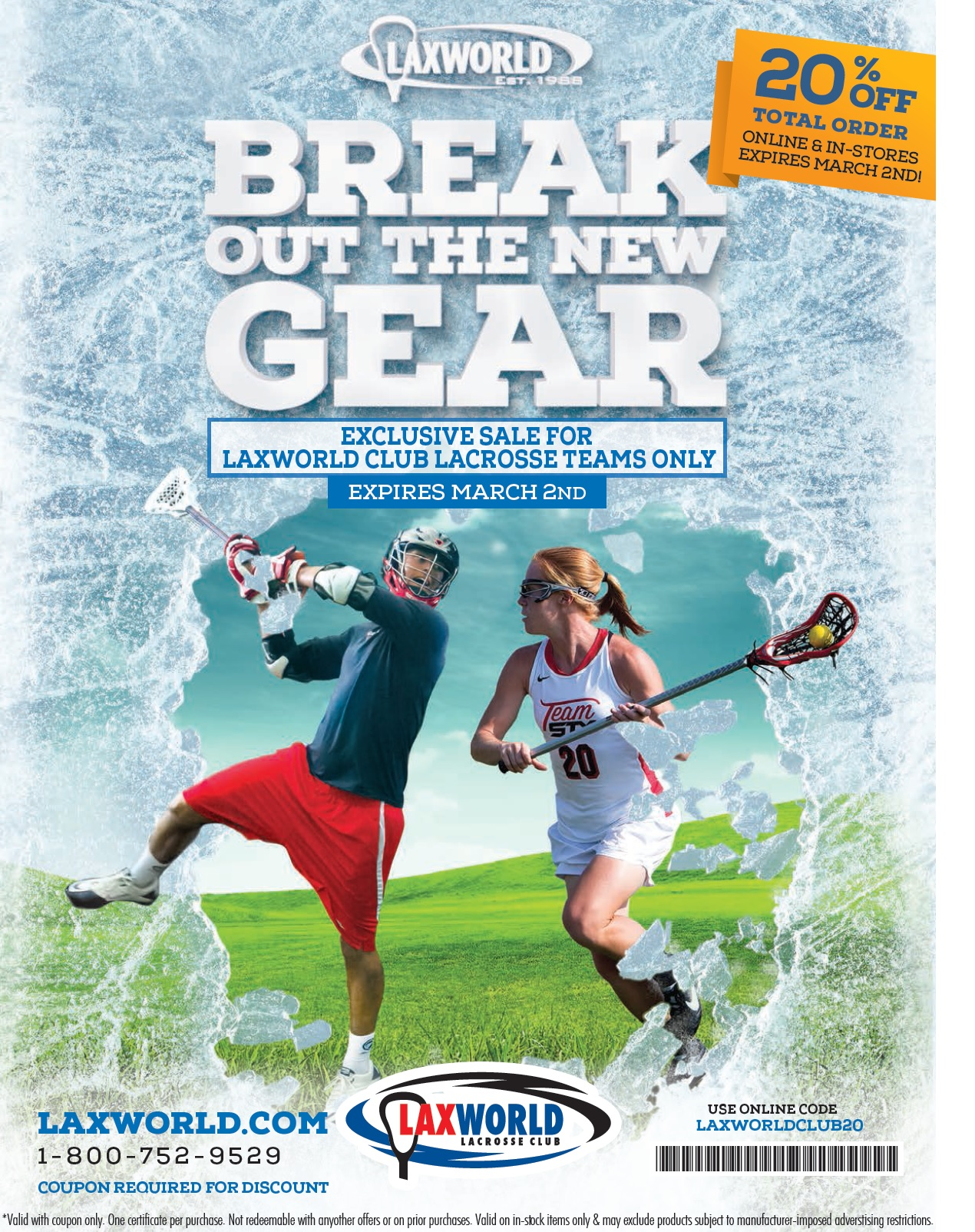 Save with Lax World promo codes and coupons for November Today's top Lax World offer: 21% off Coupon. Plus, get free shipping on your order. Find 9 Lax World coupons and discounts at toybook9uf.ga Tested and verified on November 20,