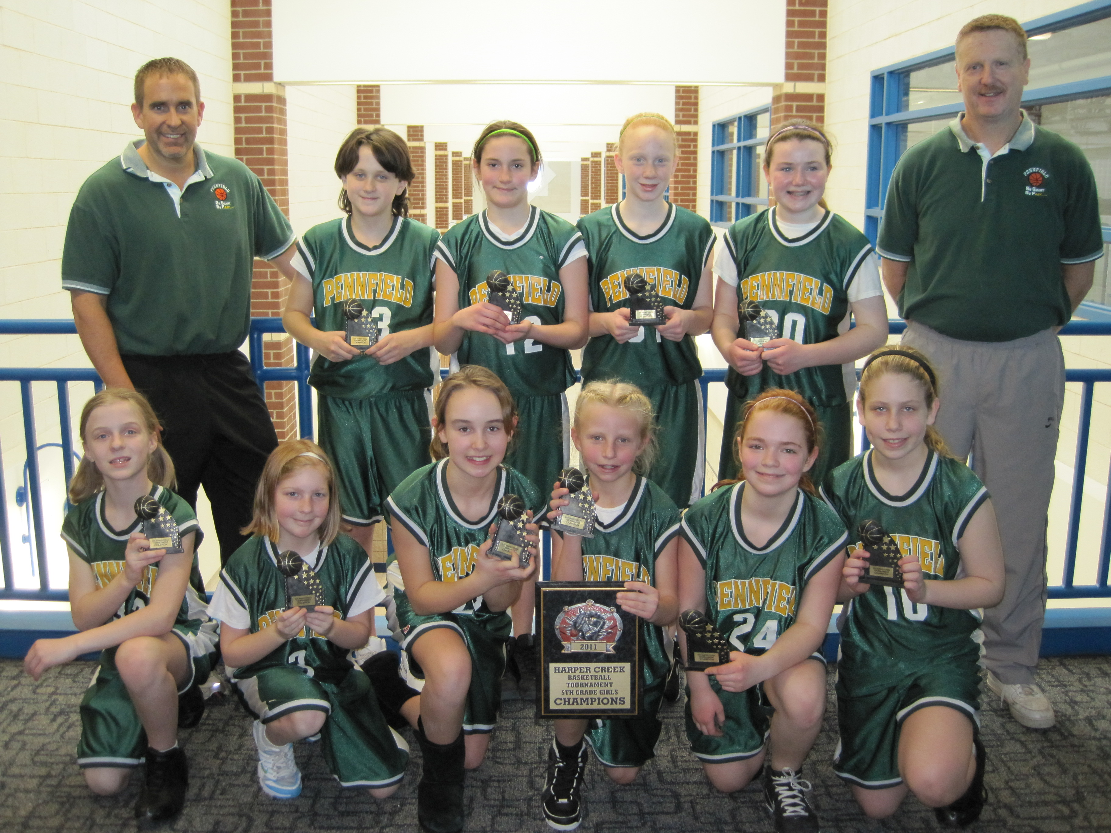 Harper creek 8th grade boys champions
