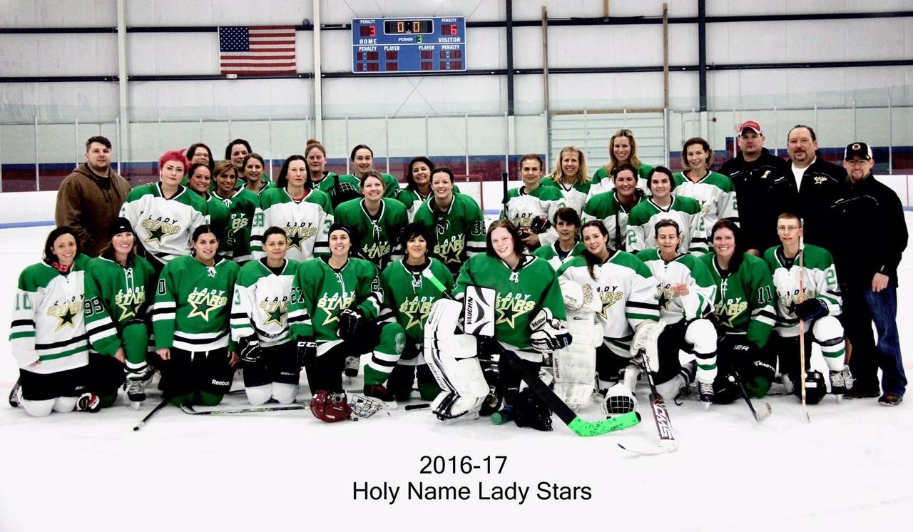 Lady Stars Of Holy Name Holy Name Hockey