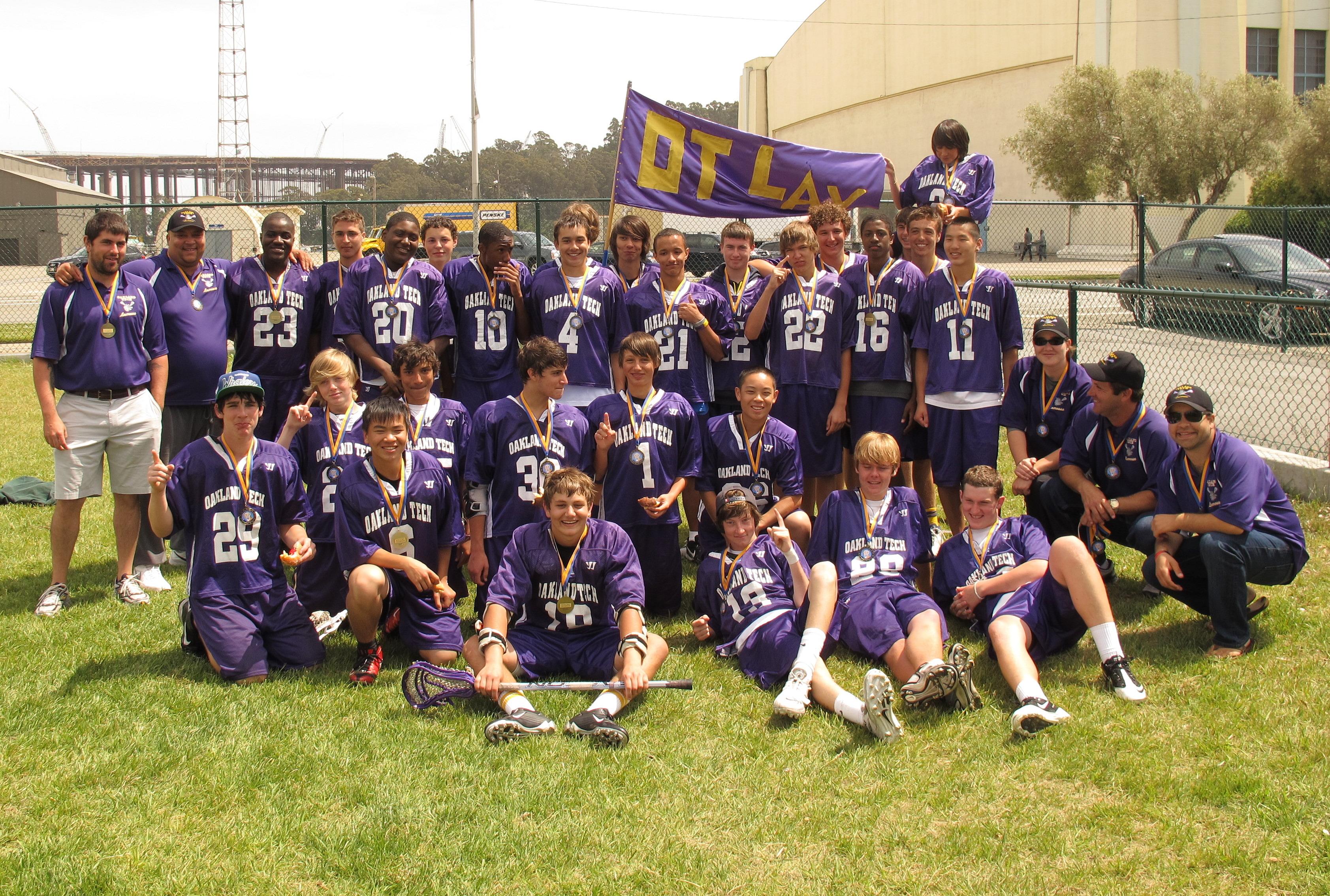 High school lacrosse players