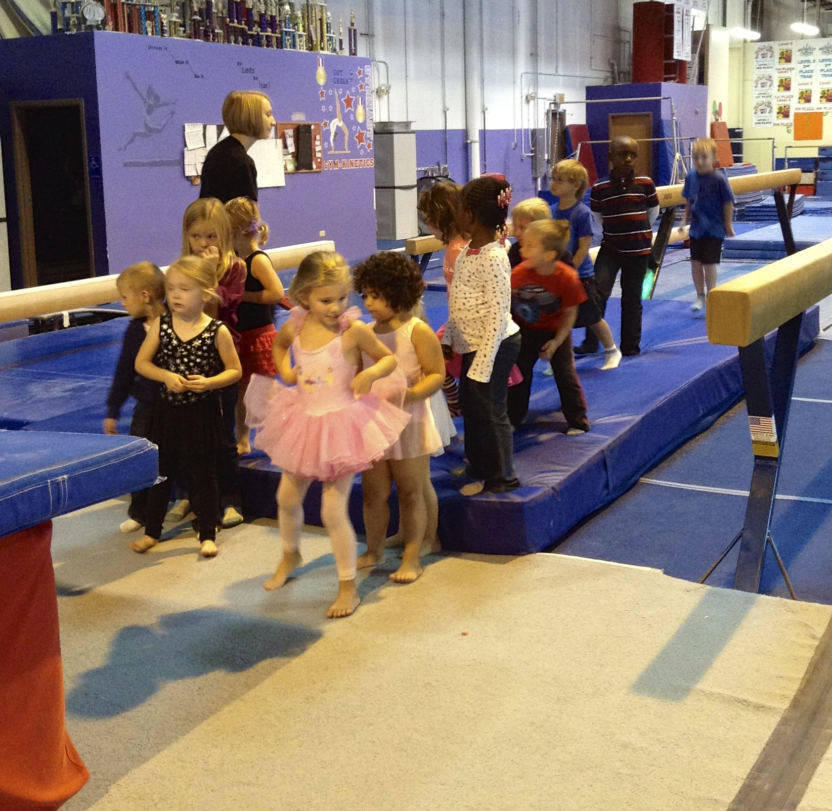 kinetics gymnastics meet
