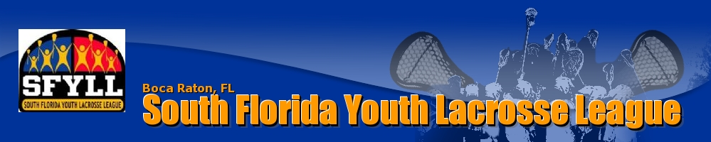 South Florida Youth Lacrosse League, Lacrosse, Goal, Field