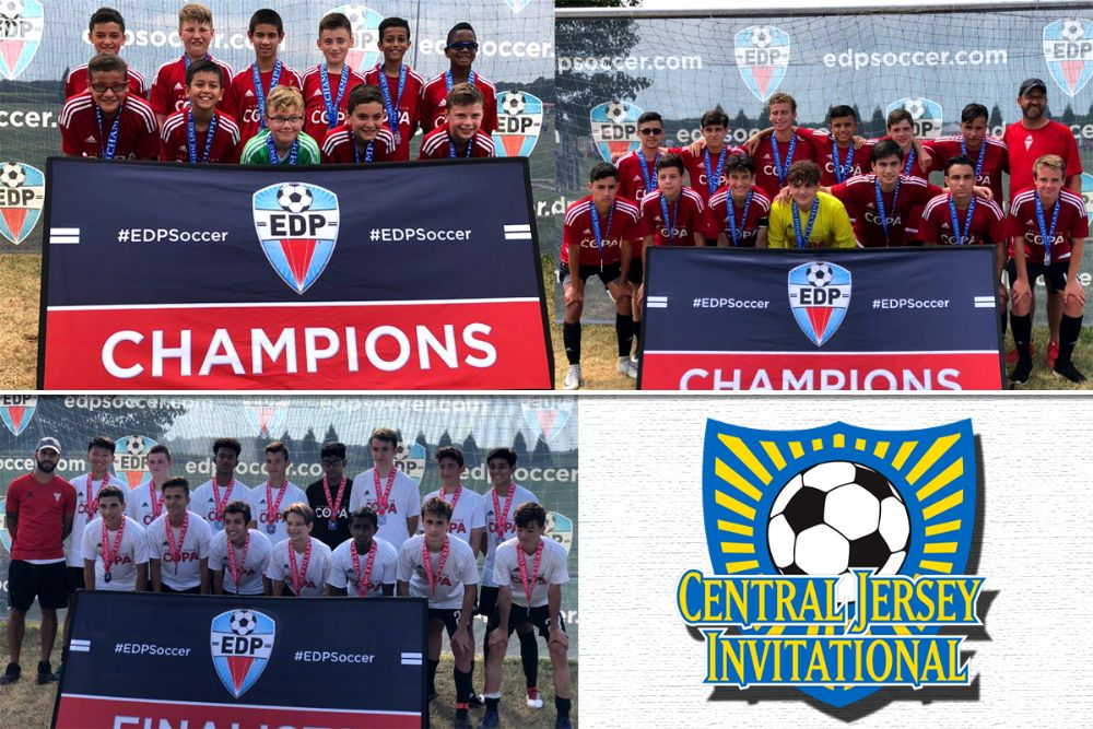 91ffc4f88 Three teams placed at the Central Jersey Invitational after fantastic  performances throughout the two days. The Boys 2002 Red and Boys 2006 ...