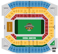 Citrus Bowl Seating Map Citrus Bowl Venue | Citrus Bowl Summer Face Off Citrus Bowl Seating Map