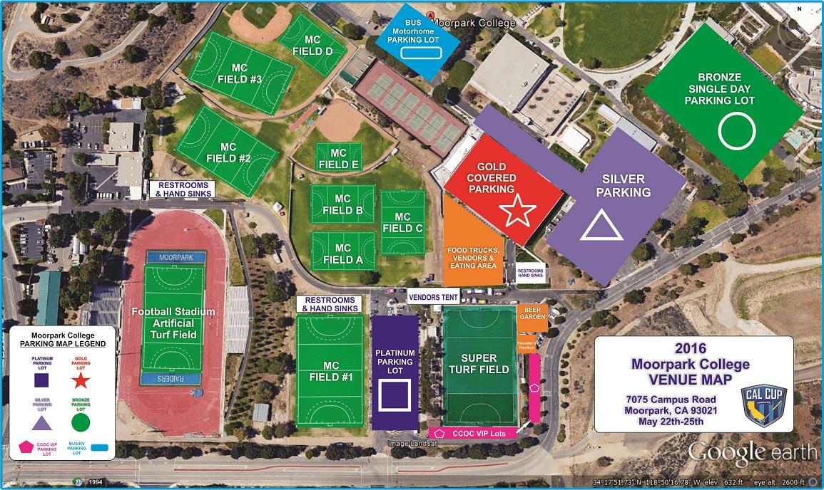 Moorpark College Campus Map Park Ideas